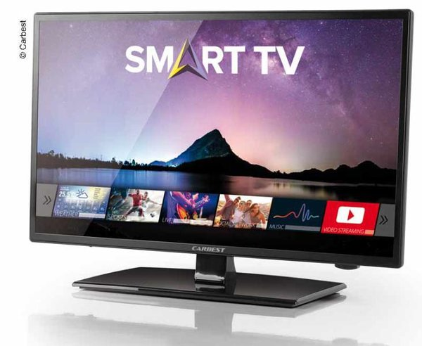 12-V-Fernseher, Smart LED TV 21,5' Full HD