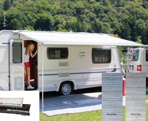Fiamma Caravanstore Sackmarkise 280 XL, Royal Grey